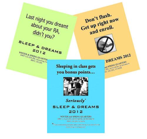 Sleep and Dreams Flyers