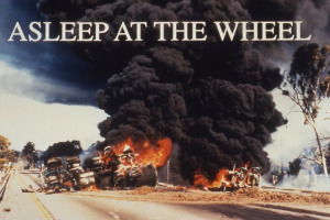 The ultimate cost of sleep debt - a fatal car accident.