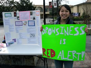 Drowsiness Is Red Alert Student