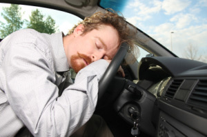 Drowsy Driver Picture