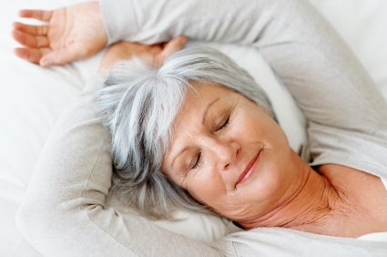 Photo of Elderly Sleep