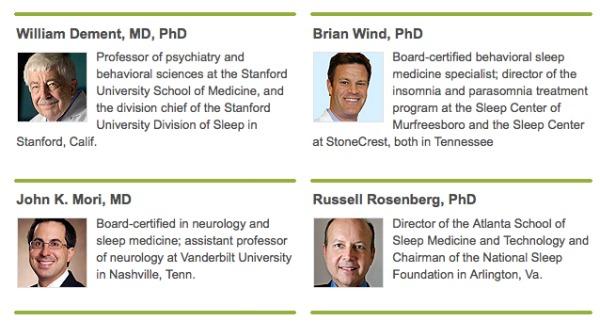Sleep Expert Panel