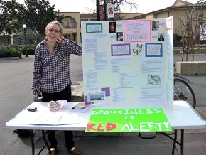 Sleep and Dreams Outreach - Tabling and Teaching in White Plaza