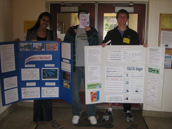 Chris Douglas and Adina Tecklu present at Menlo Atherton High School