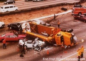 Drowsy driving truck accident